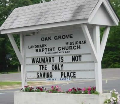 15 Hilarious Church Signs (funny church sign sayings, funny church signs messages) - ODDEE