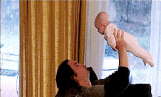 When he held a baby and all was right with the world. | 21 Moments That Made You Fall In Love With Tim Riggins