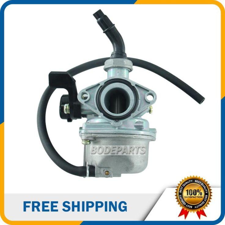 [Visit to Buy] PZ19 19mm Motorcycle Carburetor for 50cc 70cc 90cc 110cc ATV Dirt Bike Go Kart Carb Choke Taotao carburettor Free shipping #Advertisement