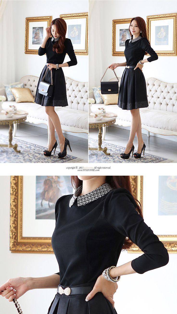 Black Womens Korean Fashion