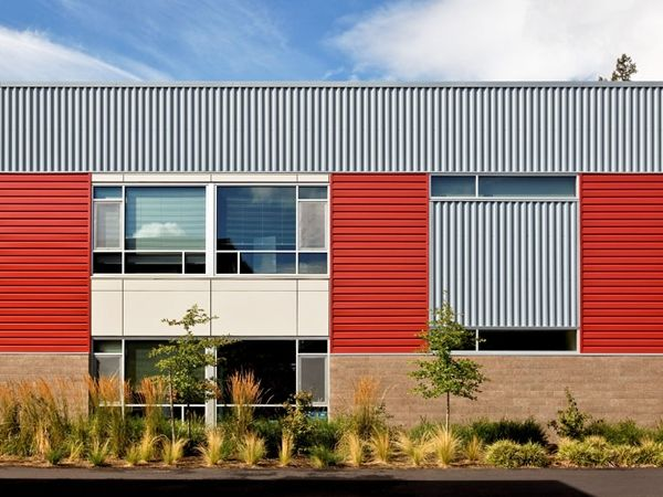 Build with metal centria lab buildings pinterest for Exterior design courses