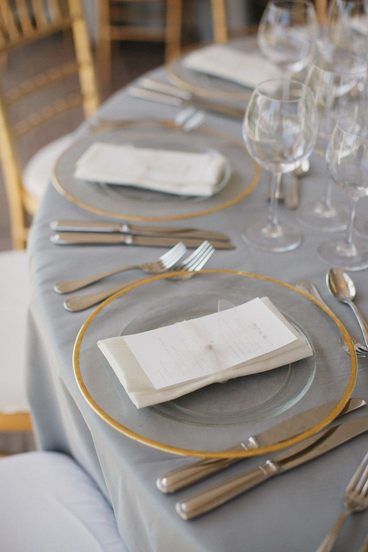 Ideas about gold table settings on pinterest