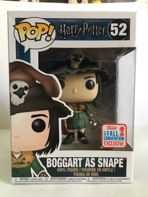 Funko POP! Harry Potter BOGGART AS SNAPE 52 NYCC 2017 Fall Con Exclusive New | eBay