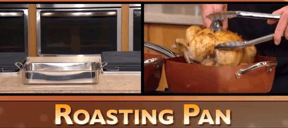 Copper Chef  Roasting pan, Rice Cooker, Steamer, Stock Pot, Wok, Baking Dish