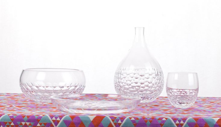OP-jects: optical illusions in glassware by bilge nur saltik - designboom