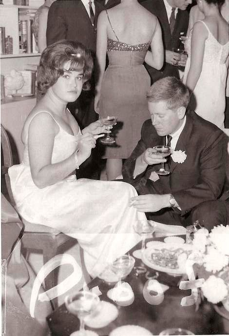 Submitted by jshelton. In pure Mad Men style: my parents at their wedding, November 1965 (jshelton comment)