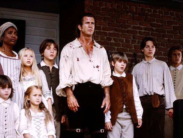 The Patriot (Movie - 2000) | They helped their father decimate an entire redcoat patrol. Sound horrifying? Brother, these kids were raised by Mel Gibson . Theyve seen it all.