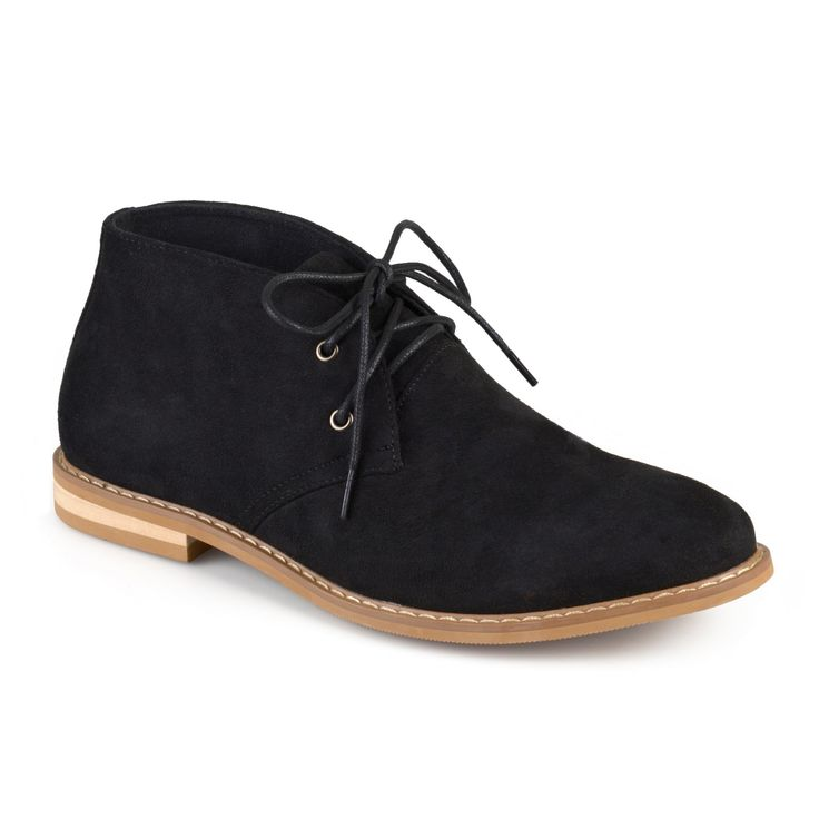 Men's Vance Co. Manson Lace-up Faux Suede High Top Chukka Boots - Black 11