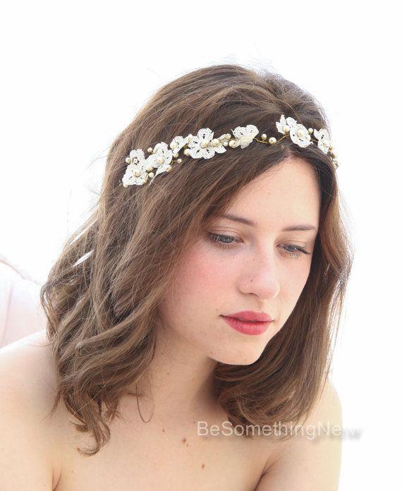 Bruiloft haar Vine zendspoel Vintage Lace en door BeSomethingNew