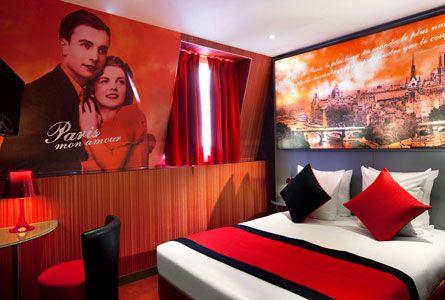 Book Hôtel Montmartre mon Amour in Paris, France – Reviews & Hotel Rates | Splendia - http://pinterest.com/splendia/