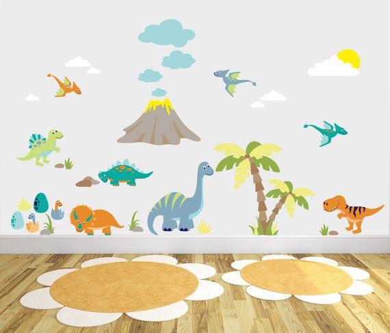 Best Boys Wall Stickers Ideas On Pinterest Room Stickers - Dinosaur wall decals nursery
