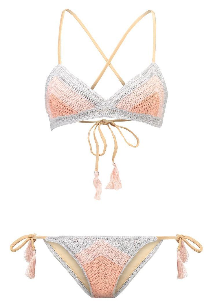 Suboo CHEVRON - Bikini - dove - Zalando.nl