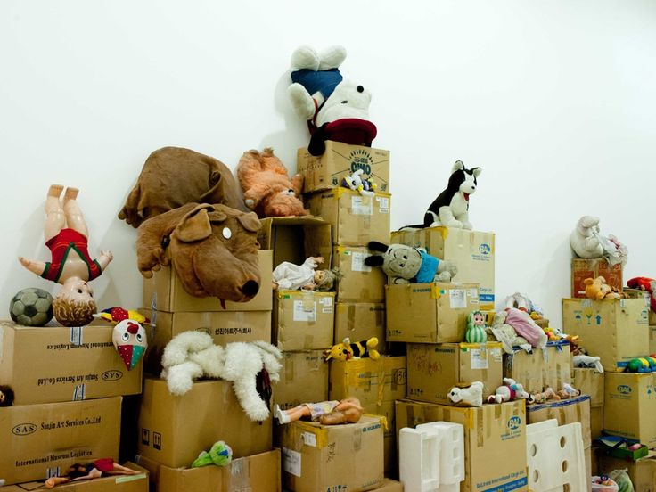 Waste Not Exhibition  by Song Dong
