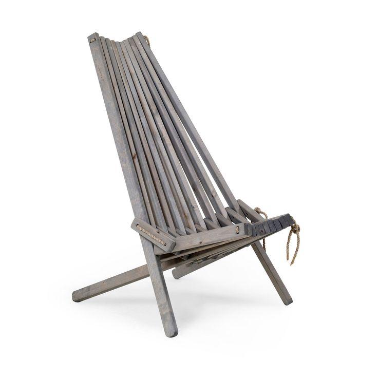 Ribbon alias EcoChair är en helt igenom ekologisk stol, tillverkad av oljebehandlad björk och hamparep. Reglerbar i två lägen. Till stolen finns även en fotpall utformad enligt samma teknik. Ribbon passar in i de flesta miljöer – såväl inomhus som på trädäcket, balkongen eller campingen. Nackkudde säljs separat. Mått: Sits / Totalbredd, totaldjup, totalhöjd Fåtölj: …