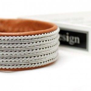 Sami bracelet Noatun by AC Design www.acdesign.se #acdesign #bracelet #leather…