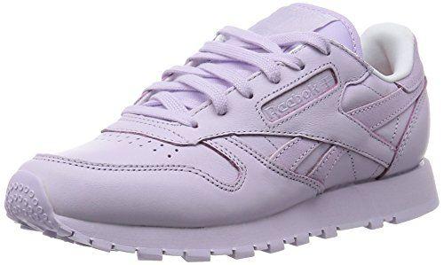 reebok classic leather spirit damen sneakers pink lilac ice white rosette 42 eu 8 damen uk. Black Bedroom Furniture Sets. Home Design Ideas