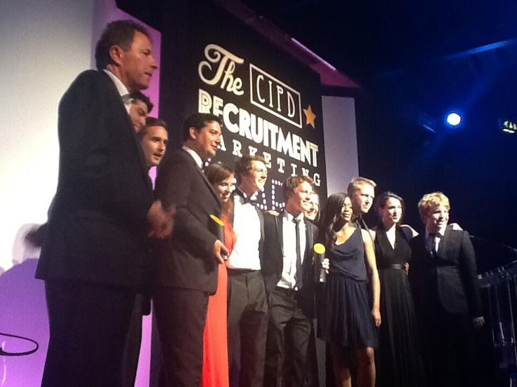 Up on stage collecting our Grand Prix award with Mars, for the first time as a team too! Great night, great client, great memories.