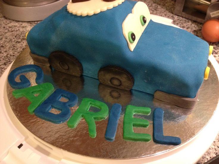 Mon premier gâteau voiture