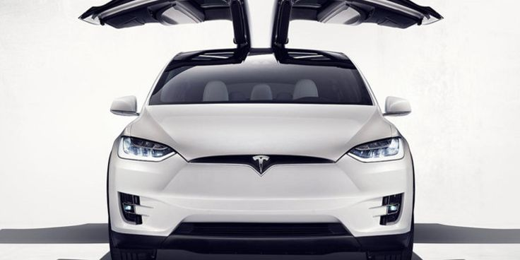 Our first look at the new Tesla Model X SUV