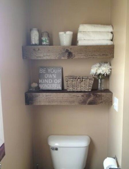 These Would Be Great Over The Toilets In Both Bathrooms! Full Instructions  Included On The