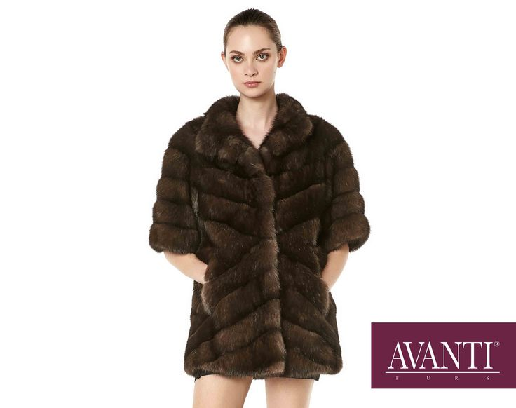 AVANTI FURS - MODEL: FETA SABLE JACKET with Mink Silk details #avantifurs #fur #fashion #fox #luxury #musthave #мех #шуба #стиль #норка #зима #красота #мода #topfurexperts