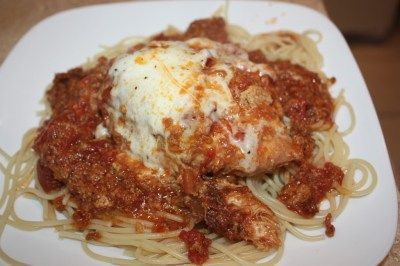 Crock Pot Chicken Parmesan - Cooking with CrystalCooking with Crystal