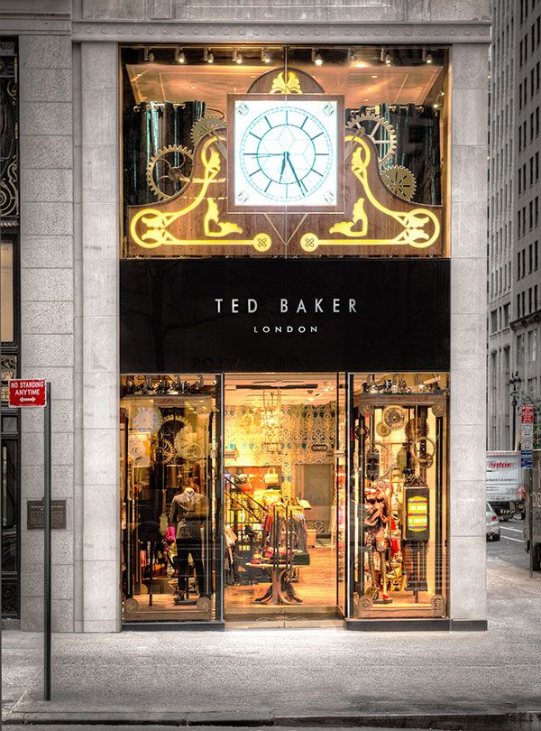 TED BAKER LONDON SHOP OPENED ONE IN NYC 5THAV BELLADONNALUXEDESIGN