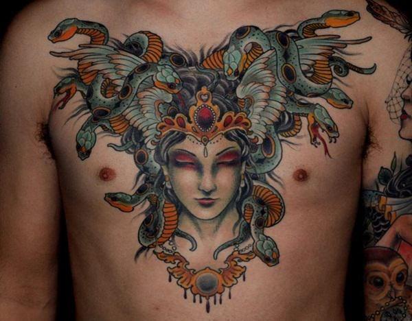 Medusa tat