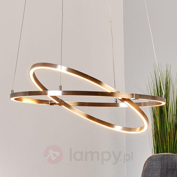 Regul. lampa wisząca LED TORNA w kszt. pierścienia 9987013