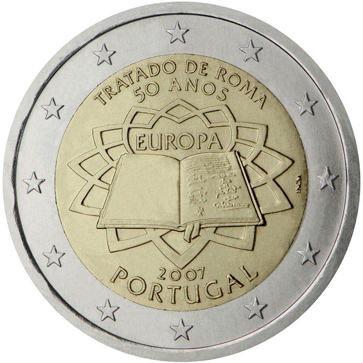 Existem mais de 15 moedas diferentes de dois euros portuguesas em circulação, algumas das quais raras. Conheça-as aqui.