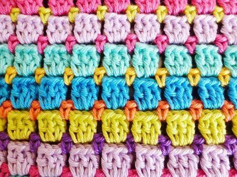 Patrón #1160: Punto Tupido a Crochet | CTejidas [Crochet y Dos Agujas]