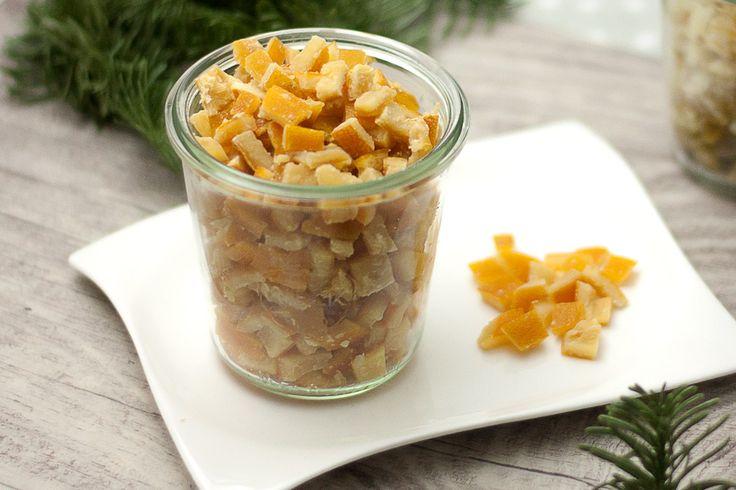 Wieso nicht mal Low carb Zitronat oder Orangeat? So können auch im Winter leckere Naschereien gebacken werden.