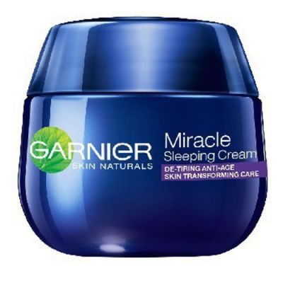 Garnier Skin Naturals Miracle Cream krem przeciwzmarszczkowy na noc 50 ml - Agito.pl