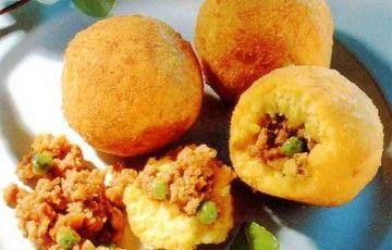 Sicilian arancini (original recipe)