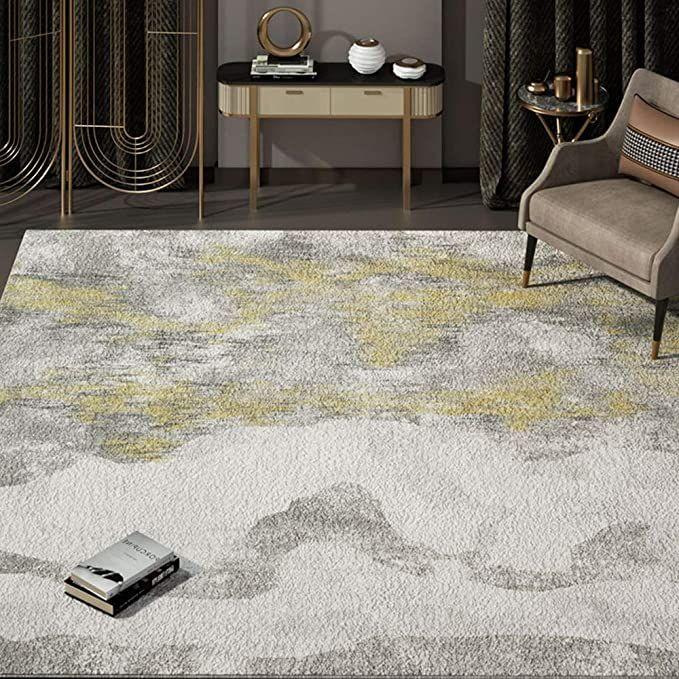 Floor Mat Rectangle Area Rug Carpet Living Room Area Rug Sets Indoor Modern Carpet Anti Skid High End Bedroom Mat L Area Rug Sets Rugs On Carpet Area Room Rugs
