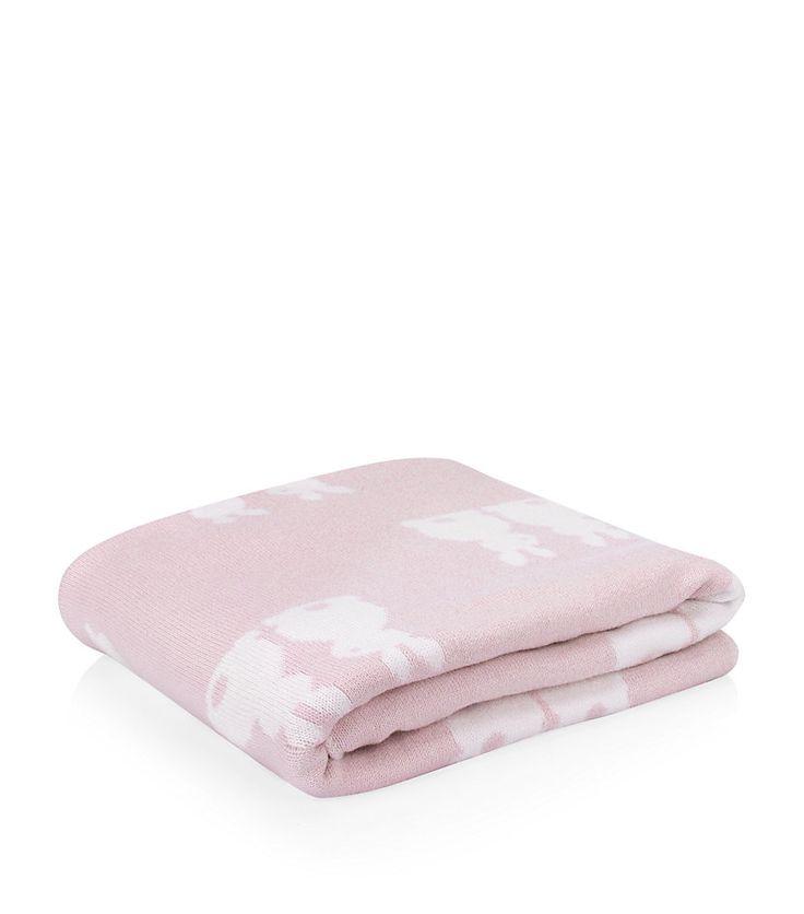 Kissy Kissy Pink Bunny Blanket