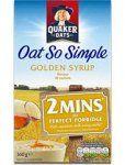 Quaker Oat So Simple Golden Syrup Porridge  1.00 @ Iceland                                                                                                                                                                                 Más