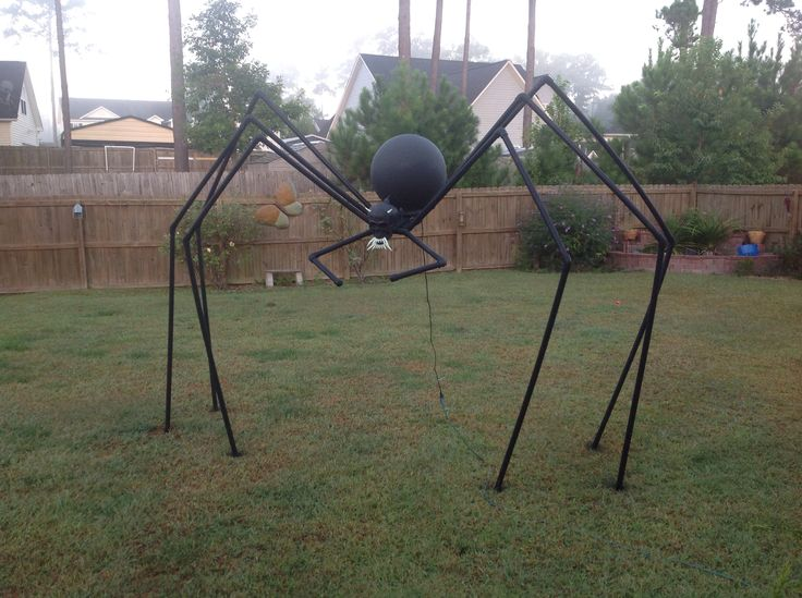 Halloween spider I made this out of PVC pipe. | Halloween ...