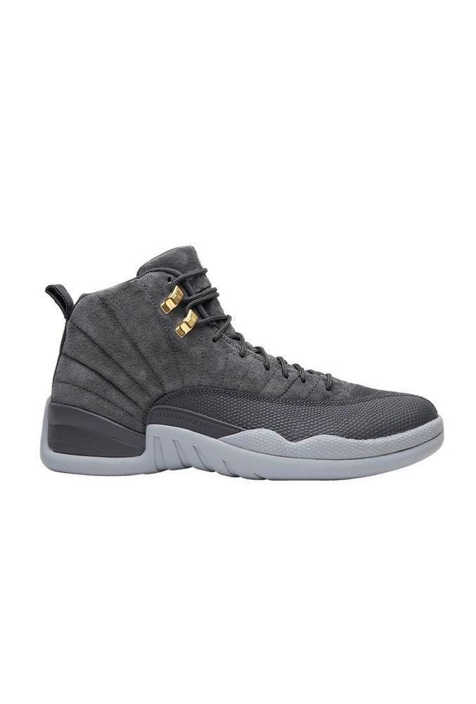 edfd05a110136d Nike Air Jordan 12 -2017 -Dark Grey Dark Grey-Wolf Grey size 8.5  fashion   clothing  shoes  accessories  mensshoes  athleticshoes (ebay link)