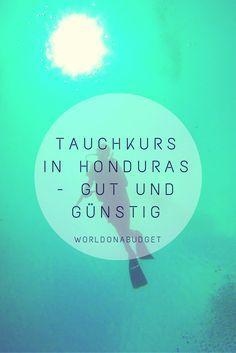 #Honduras ist ein #Paradies für #Taucher. Die #BayIslands bieten eine abwechslungs- und artenreiche #Unterwasserwelt. Dazu gibt es auf #Utila noch zahlreiche qualitativ hochwertige Tauchschulen und die Preise sind richtig günstig. So konnten auch wir nicht widerstehen unseren #PadiOpenWaterDiver zu absolvieren. #Reisebericht