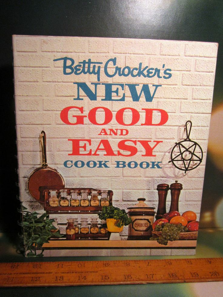 Betty Crocker's New Good and Easy Cookbook FIRST ED 1962 Hardback Spiral CLEAN  $10