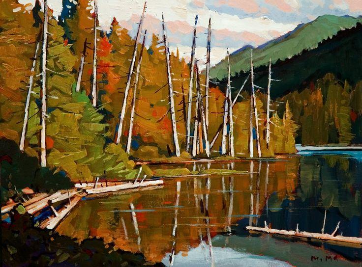 Lakeside, by Min Ma