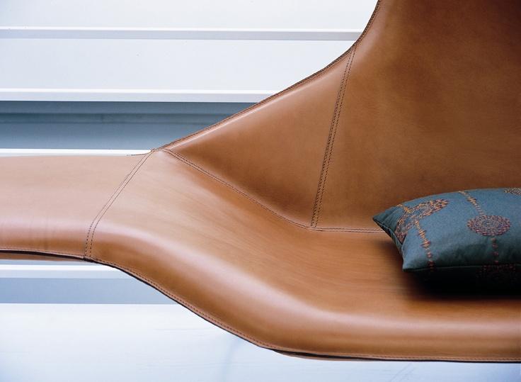 LAMA designed for Zanotta / #loungechair #design #Palomba