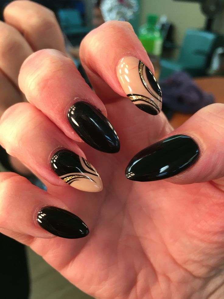 Black and Tan nail design - The 25+ Best Tan Nail Designs Ideas On Pinterest Tan Nails, Gold