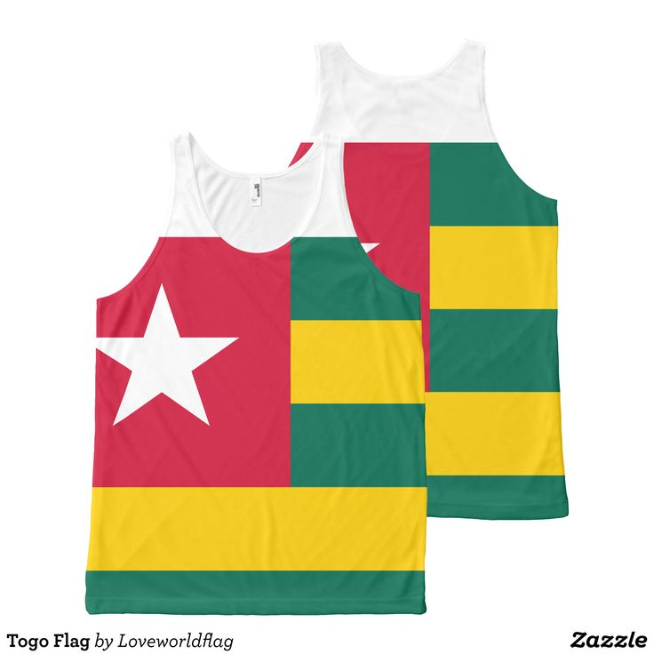 Togo Flag All-Over-Print Tank Top - Comfy Moisture-Wicking Sport Tank Tops By Talented Fashion & Graphic Designers - #tanktops #gym #exercise #workout #mensfashion #apparel #shopping #bargain #sale #outfit #stylish #cool #graphicdesign #trendy #fashion #design #fashiondesign #designer #fashiondesigner #style
