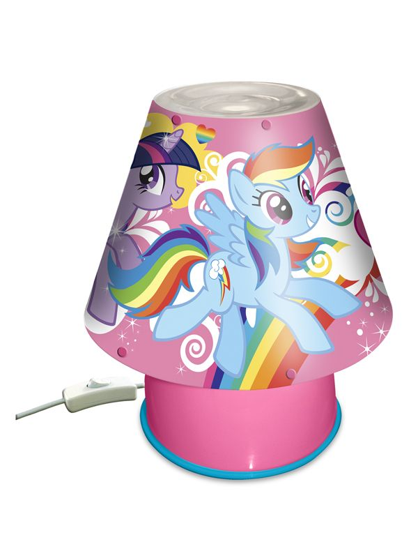 My Little Pony Kool Lamp Ideal For Little Girls Bedsides