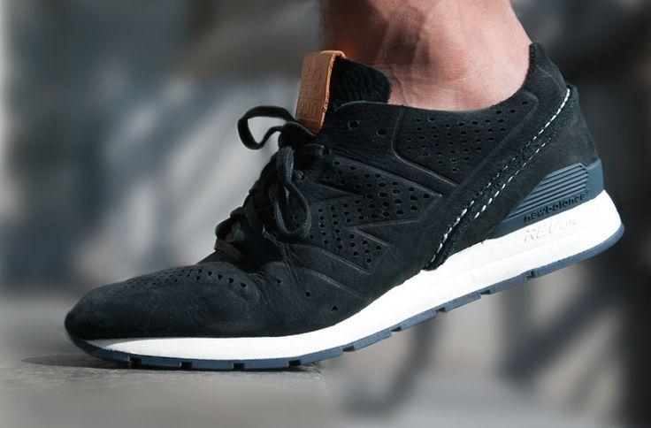 new balance 996 trainers black