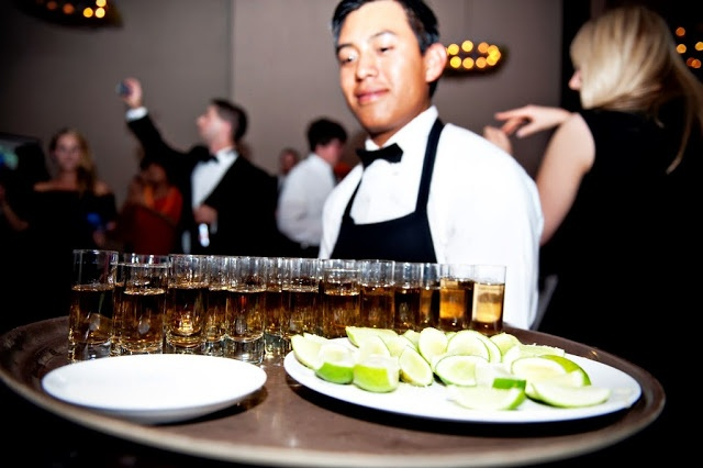 Create a signature wedding cocktail or offer a representative drink...