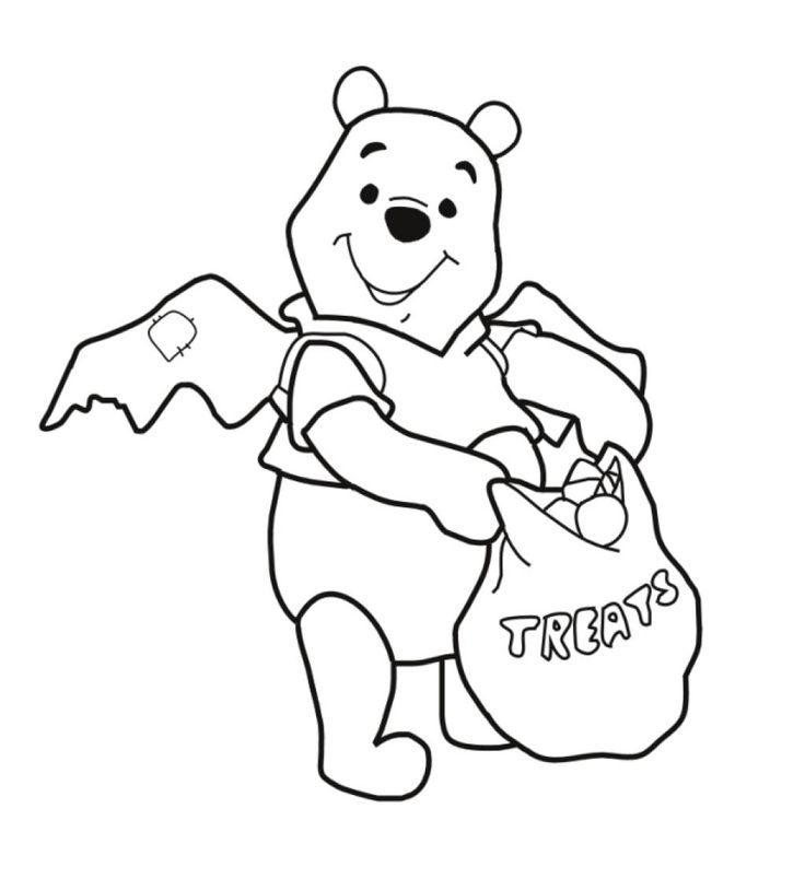winnie the pooh coloring pages halloween winnie the pooh coloring pages kidskatcom