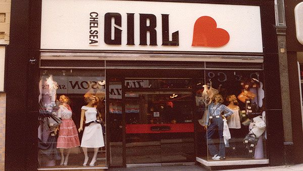 Chelsea Girl 1970s. I had a cardigan with the heart shaped buttons.